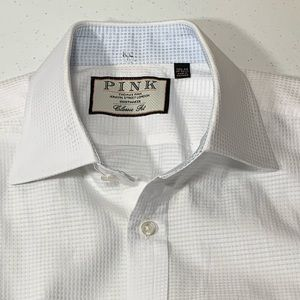 Thomas Pink White 15 1/2 - 34 Classic Shirt